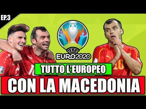 🏆 TUTTO L'EUROPEO CON LA MACEDONIA DI PANDEV ED ELMAS IN UN UNICO VIDEO!!   EUROPEI 2021 EP.3