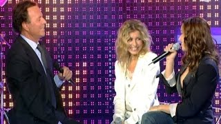 Julio Iglesias & Natasha St Pier, Julie Zenatti - Il faut toujours un perdant