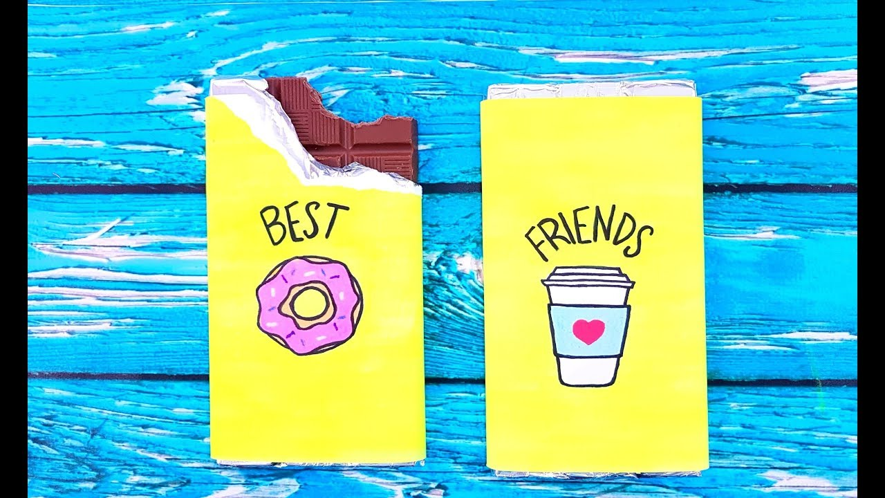 Diy Birthday Gifts For Best Friends 3 Easy Cute Diy Projects