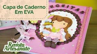 Capa de Caderno em EVA 3D – Passo a Passo