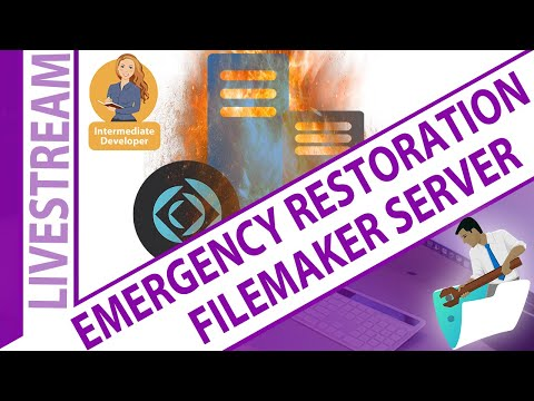 Emergency Restoration Consideration for FileMaker Server
