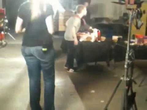 Seth Green freaking out and attacking crew members
