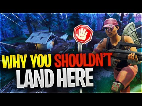 WHY YOU SHOULDN\'T LAND HERE (Fortnite Battle Royale)