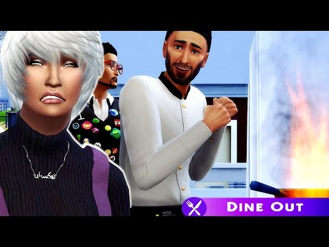 The Sims 4 | Dine Out | Part 1: Terrible Chef