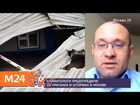 Москвичей предупредили о возможных штормах и ураганах в мае - Москва 24