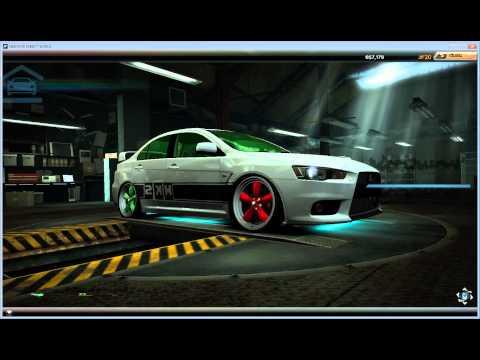 ดริฟ Need For Speed World  พาดูรถแรงที่สุดของเกม