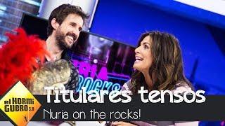 Nuria Roca repasa, entre risas, los tensos titulares sobre Pablo Motos - El Hormiguero 3.0