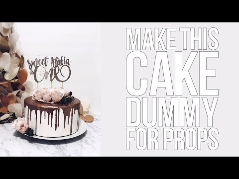 how-to-make-a-dummy-cake-props