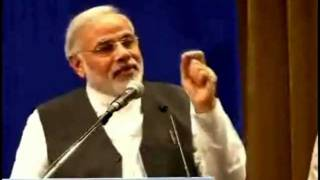 Hon. NARENDRA MODI sharing views about SINDHI FOOD