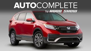 Autocomplete: Honda's Cr-v Hybrid Is Here And More From Around The Automotive World