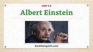 [Unit 2.9] Albert Einstein - Listening English Through Dictation