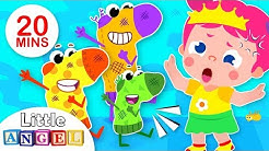 It's the Stinky Socks Parade! Kids Songs by Little Angel