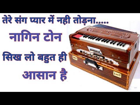 Tere sang pyar me nagin tone on harmonium