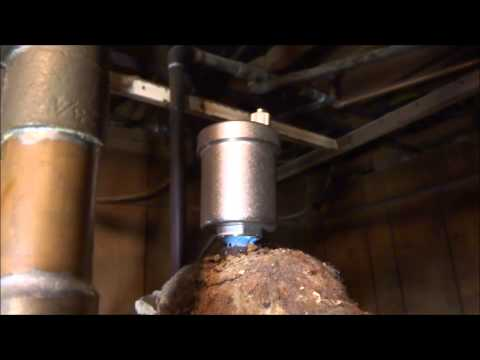 gas hydronic boiler with many issues fixed