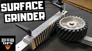 Homemade Surface Grinder Attachment - Want Flat Things?