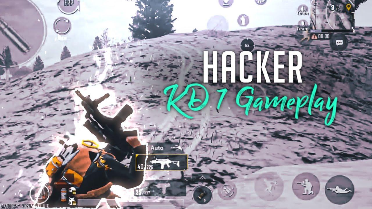 KD 7 Gameplay   PUBG Mobile   Hacker ?