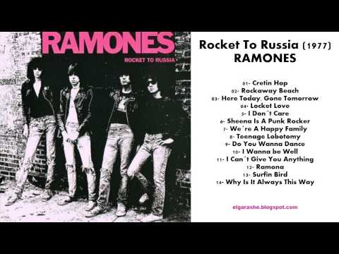 Ramones - Rocket To Russia (1977) Full