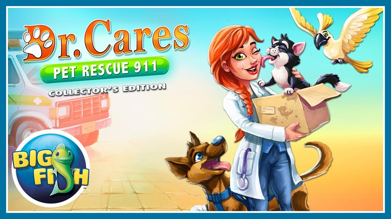 Dr  Cares Pet Rescue 911 Collector's Edition > iPad, iPhone, Android