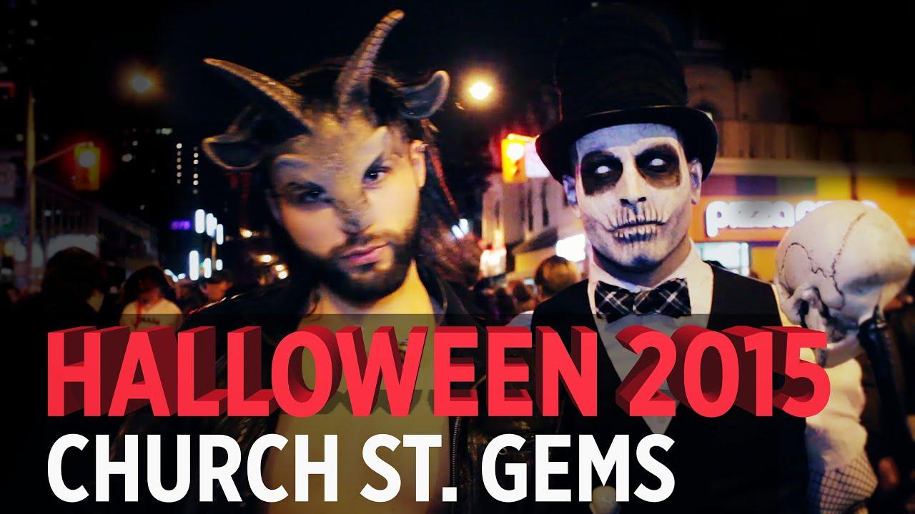 halloween 2015 church st toronto best of fest costumes youtube
