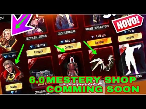 Repeat FREEFIRE UPCOMING MYSTERY SHOP 2nd ANNIVERSARY5 0 ALL