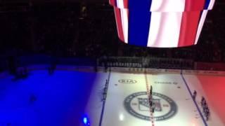 Rangers fan ruins moment of silence at Garden