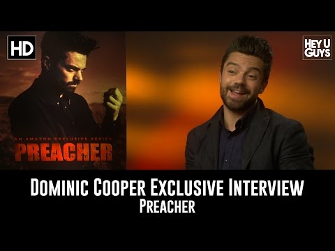 Dominic Cooper Exclusive Interview - Amazon's adaptation of hit comic book Preacher