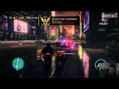 Lonewolf36057 And XxTheTacoGodxX Playing Saints Row 4