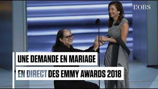 Une demande en mariage en direct des Emmy Awards 2018