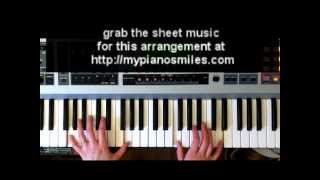 How to Play Lean On Me Easy Piano Sheet Music