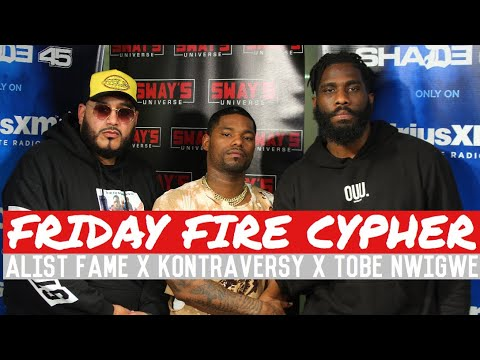 Friday Fire Cypher: Kontraversy x Tobe Nwigwe Freestyle Over Some Alist Fame Beats