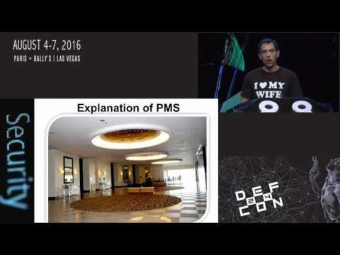DEF CON 24 - Weston Hecker - Hacking Hotel Keys and POS systems