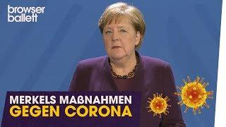 Merkels Maßnahmen gegen Corona