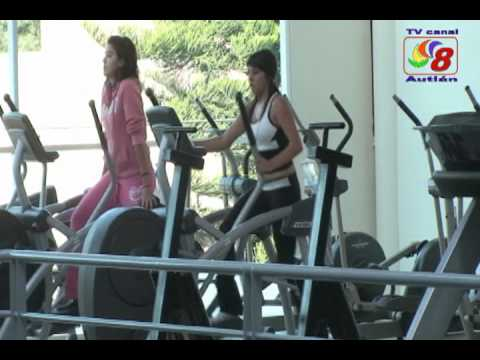 Canal 8 sport gym youtube for Aquatic sport center jardin balbuena