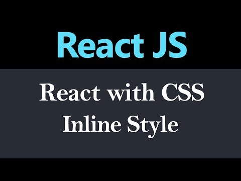 Styling Component Inline Style in React JS (Hindi) thumbnail