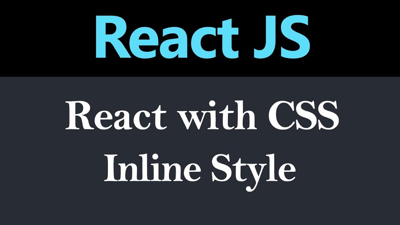 Styling Component Inline Style in React JS (Hindi)
