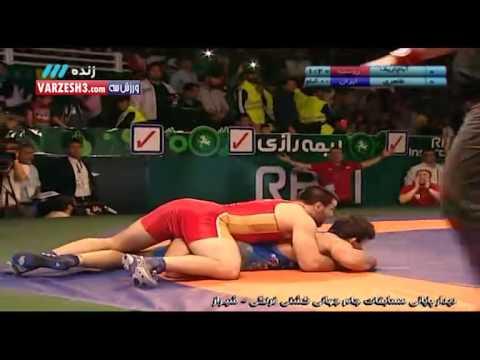 iran 8 - 0 russia (Wrestling)