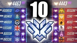 10 TOP 500s in ONE game (Profit, Rascal, Fissure, Bdosin, iRemiix VS Custa & Effect)