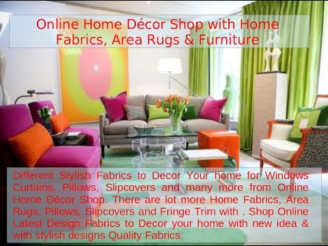Home Fabrics, Area Rugs & Furniture from Online Home Décor Shop