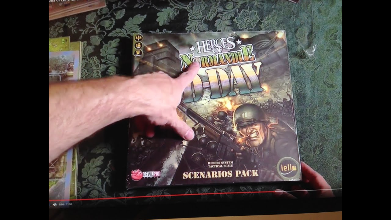 Un-Boxing the 'Heroes of Normandie' D-Day Scenarios, River Set and other  Expansion Sets