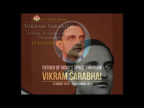 Biography of Vikram Sarabhai