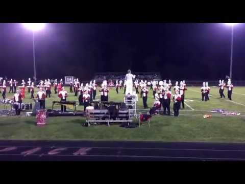 Laingsburg high school marching band 2015