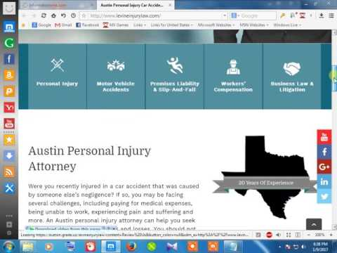 52Car Accident injured attorney austin