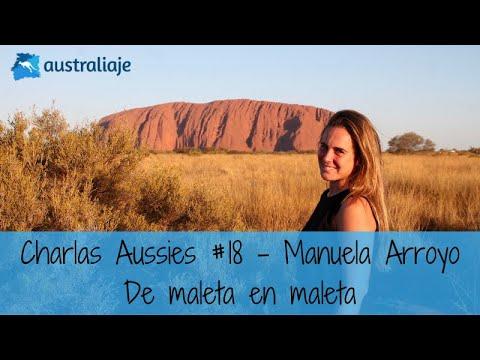 La periodista digital viajera. Manuela Arroyo. Charlas Aussies #18
