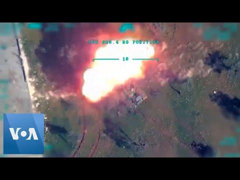 Turkey Releases Air Strikes Footage On Syria Regime Targets In Idlib