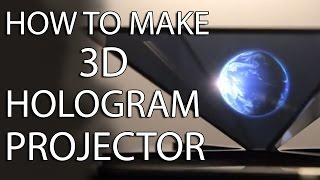 How to make 3D Hologram Projector | EASY