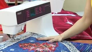 видео вышивальные машины