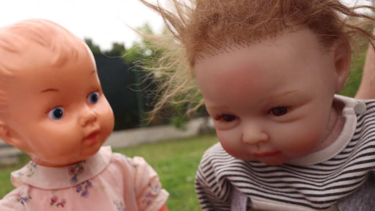 Gruselige Puppe | Die Puppen sind verärgert und verschwören sich | Gruselige Videos für Kinder
