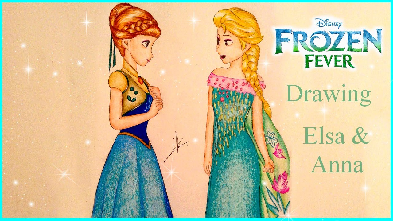Coloring pages of frozen fever dress