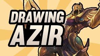 ★ Drawing Azir - SpeedDraw #5