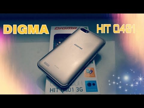 Обзор смартфона DIGMA HIT Q401
